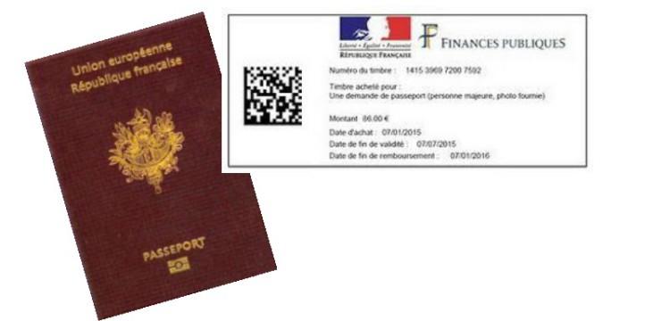 Nouveau: timbres dématérialisés pour les passeports