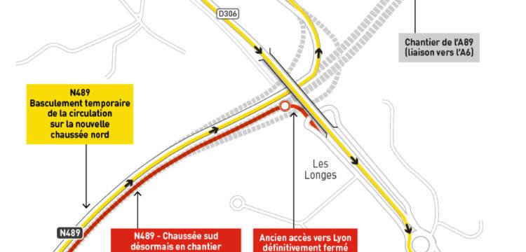Liaison A89-A6 : Nouveau trajet