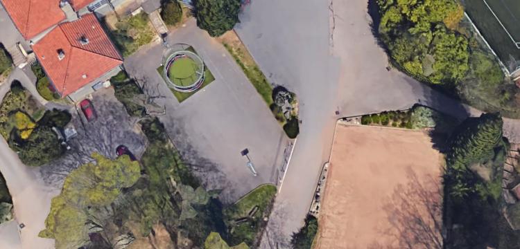 Création d'un parking paysager et d'un «dépose minute» SALLE DES FETES