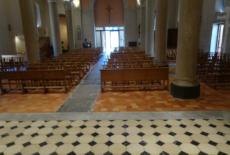 Travaux dans l'église, première phase