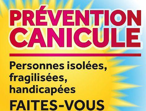 Plan Canicule : 1er réflexe, s'inscrire sur le registre !