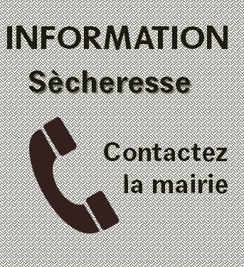 Sécheresse : recensement des dégradations