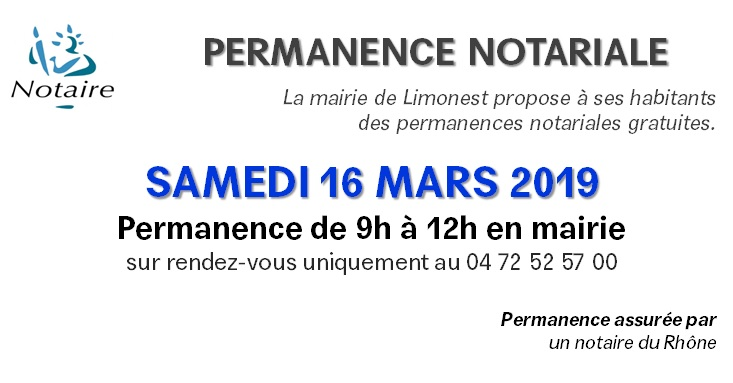 Permanence notariale / MARS