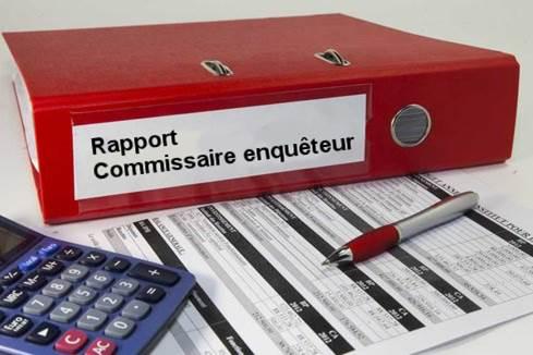 PLU-H : Rapport du commissaire enquêteur