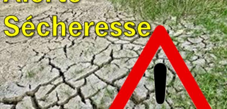 Alerte sécheresse dans le Rhône et la Métropole de Lyon