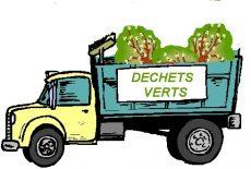 Planning des collectes de déchets verts