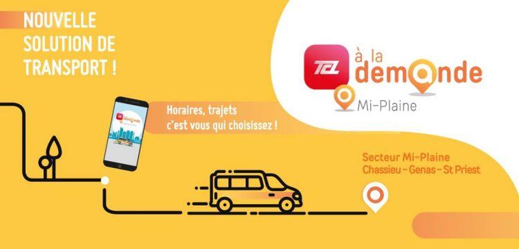 TCL : Une nouvelle solution de transport…horaires, trajets c'est vous qui choisissez !