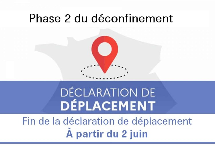 La fin de la limitation des déplacements à 100 kilomètres à partir du 2 juin