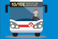 Transport en commun : Nouvelles lignes 10 & 10E